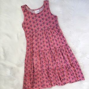 Hanna Andersson Girls Pink Racerback Dress